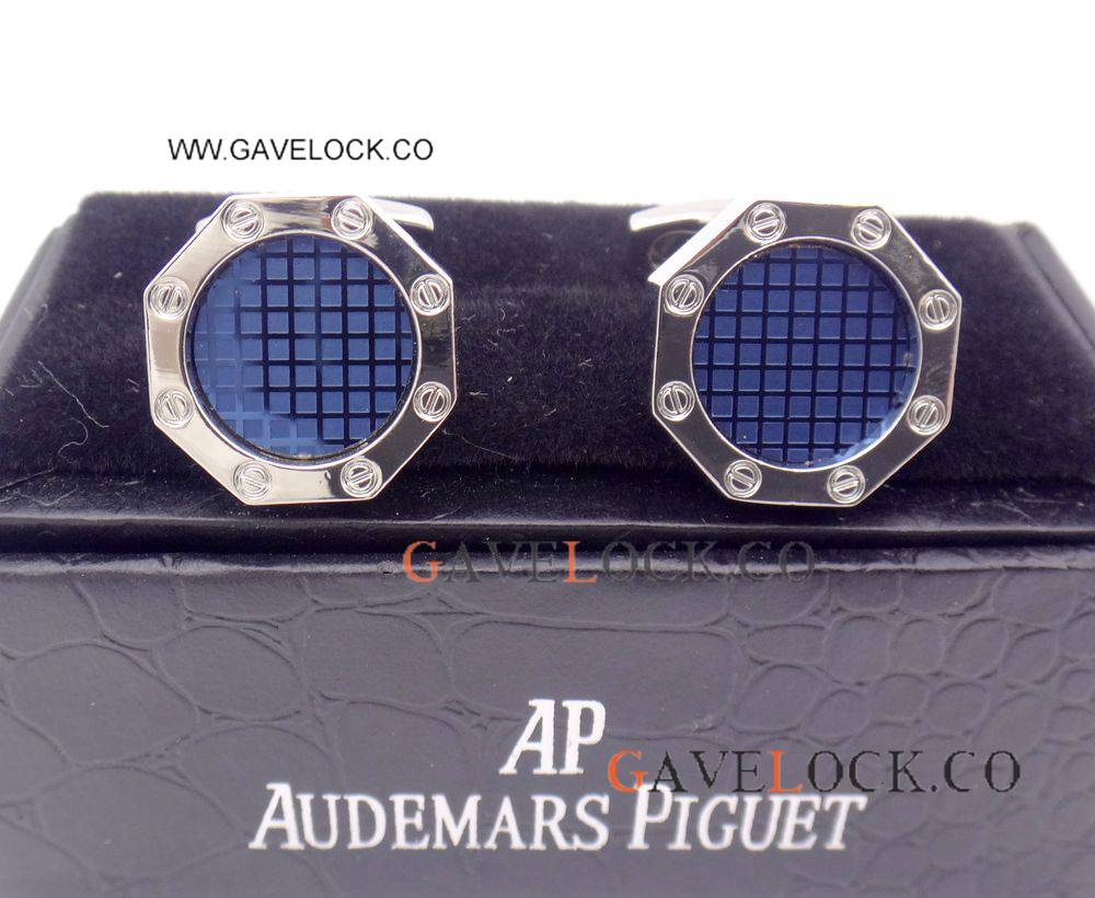AAA Copy Audemars Piguet Stainless Steel Cufflinks Royal Oak Mens